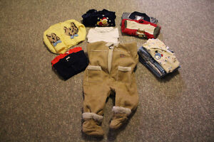 Infant 9 month clothing/snow suit for sale