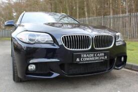 2013 13 BMW 5 SERIES 2.0 520D M SPORT TOURING 5D AUTO 181 BHP DIESEL