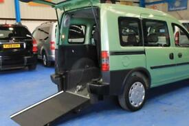 Vauxhall Combo Auto gear wheelchair access car mobility accessible vehicle mpv