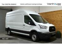 2014 Ford Transit 2.2 TDCi 350 RWD L3 H3 EU5 5dr Panel Van Diesel Manual