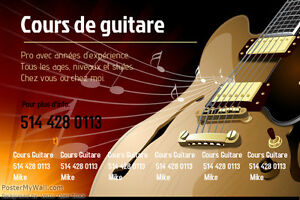 Guitar or bass lessons at your home West Island Greater Montréal image 2