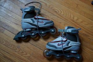 Adjustable Nike Roller Blades - great condition