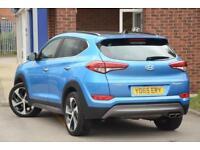 2016 Hyundai Tucson 2.0 CRDI Blue Drive Premium SE 2WD Diesel blue Manual