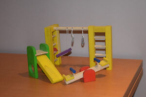 Wooden Doll house set - all inclusive West Island Greater Montréal image 3