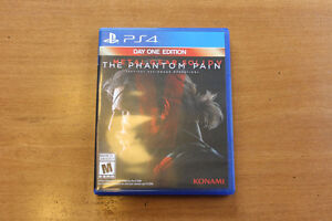 PS4 METAL GEAR SOLID 5: THE PHANTOM PAIN DAY ONE EDITION