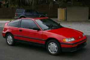 Wanted very clean or mint Honda CRX