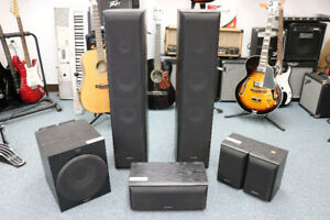 **SOLD TOGETHER OR SEPERATELY** Sony 6-Speaker Set - 16741