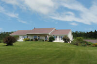 Executive rancher with spectacular view of Annapolis Valley, NS