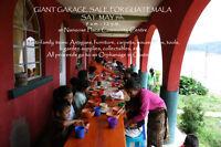 GIANT GARAGE SALE FOR GUATEMALA