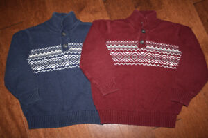 2 Children's Place Sweaters - 4T