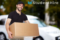 Delivery Service by StudentHire - You set the price !