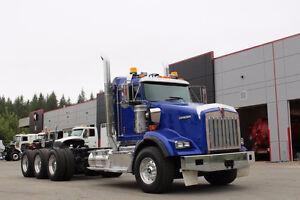 2012 Kenworth T800 Tri-Drive #4745
