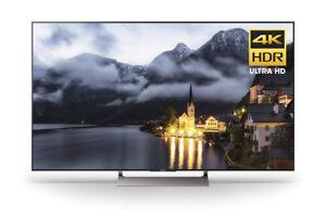 Sony XBR65X900E 65-Inch 4K Ultra HD Smart LED TV (2017 Model), W