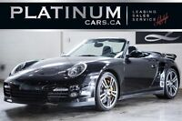 2011 Porsche 911 TURBO S/ PDK/ SPORTS CRONO/ CERAMIC BRAKES/