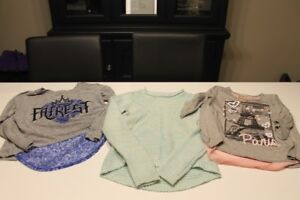 3 girls size 8-10 tops