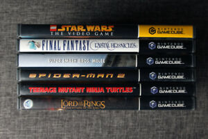 Gamecube Games , Controllers