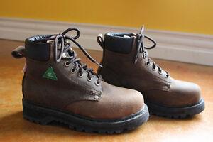 Women's Size 8M Steel-Toed DAKOTA Work Boots
