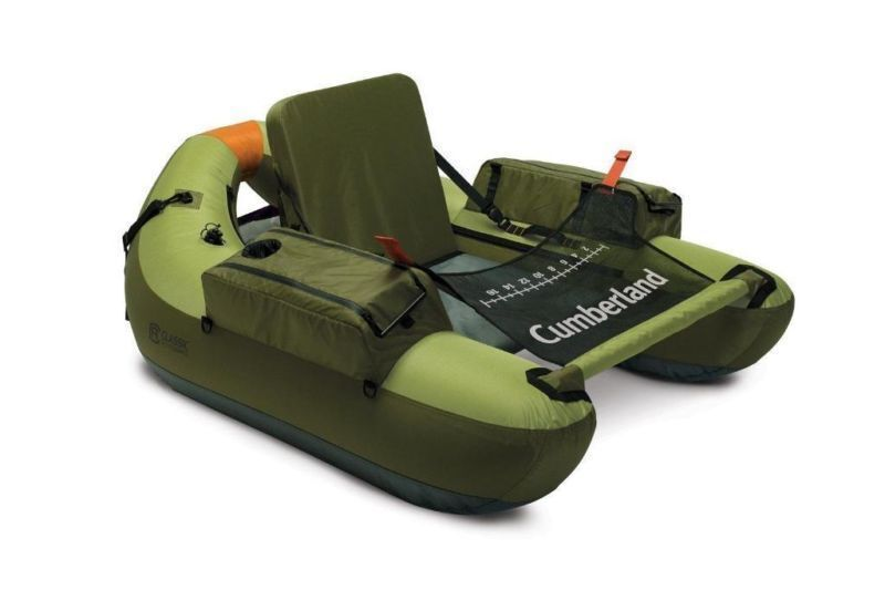 Cumberland inflatable fishing float tube boat raft for Float tubes for fishing