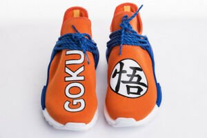 NEW Adidas Custom Goku x Human Races NMD