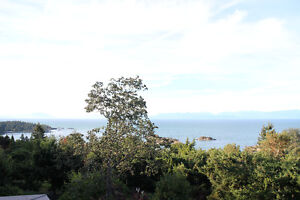North nanaimo four bedroom ocean view house for rent