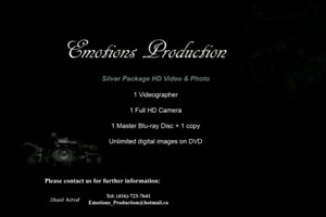 600 $ full day photography &Videography