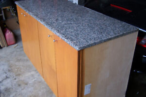 5 Foot Cupboard With Granite Counter Top Only $199 3065910391