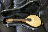 Portuguese Mandolin and Lockable Case