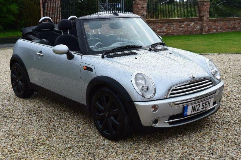 MINI CONVERTIBLE 1.6 Cooper 2dr, Silver, Manual, Petrol, 2005