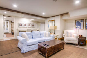 Furnished Apartment Available in a Historic Home