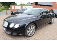 2010 10 BENTLEY CONTINENTAL 6.0 GT 2D AUTO 552 BHP