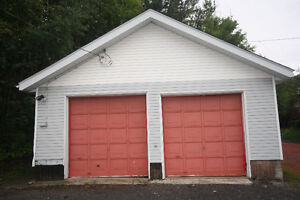 TWO-BAY WEST END GARAGE FOR RENT -- Gas Heat