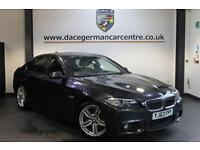2013 63 BMW 5 SERIES 2.0 520D M SPORT 4DR AUTO 181 BHP DIESEL