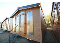 NEW 2018 Sunrise Lodge 40x13 | Mobile Log Cabin Home | Unsited | FREE DELIVERY