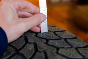 Studded Winter Tires 215/60 R16 95T for sale 4-$200.00