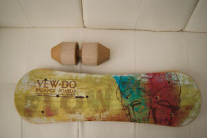 Vew-Do Balance Board with Rock