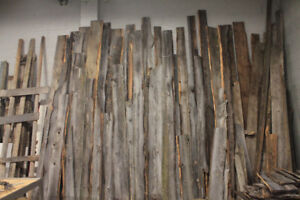 Barn board, beams, live edge, antique hardware and more!!