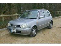 AUTOMATIC Nissan March (MICRA) done 52843 Mile with NEW MOT BATTERED and BRUISED