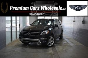 2015 Mercedes-Benz M-Class ML350 BlueTEC AMG 4MATIC |LOADED|NAVI