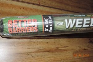 Quest Better Barriers landscape fabric 3' X 50' Kitchener / Waterloo Kitchener Area image 3