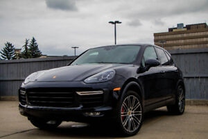 Single owner 2015 Porsche Cayenne Turbo with only 28,587 KM