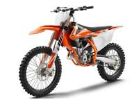 KTM 250 SX-F 2018 VAT Free deal -£100 discount - LAST ONE REMAINING