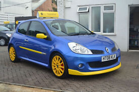 Renault Clio 2.0 16V Renaultsport 197, 75K MILES, FULL S/HISTORY, REMAP, MAY MOT