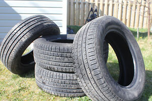 Four 225/65 R17 Pirelli All Season Tires