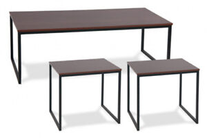 MODERN 3 PIECE COFFEE TABLE SET FOR ONLY $150