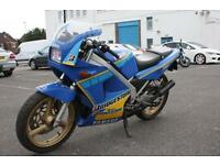 YAMAHA TZR 250, BLUE, 90S CLASSIC 2 STROKE 1KT 2T RARE CLASSIC MOTORCYCLE