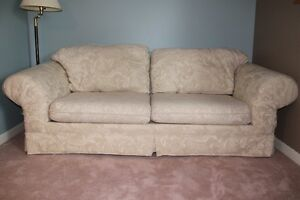 Off White/Cream coloured Couch - Ideal for University/College