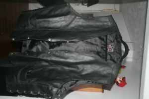 Mens Motorcycle Vest