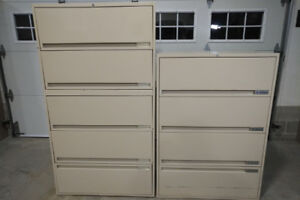 Storwal Lateral Metal Filing Cabinets