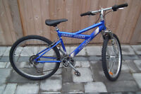 21 SPD. INFINITY MOUNTAIN BIKE FRONT SUSPENSION
