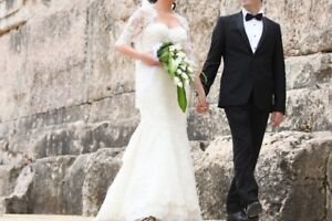 Robe de Mariage Elegant Pronovias Wedding Dress